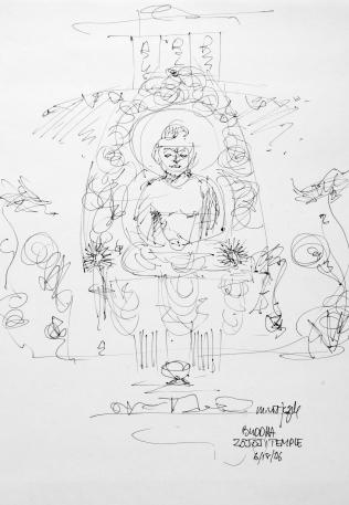 10. Buddha Zojoji Temple 6-18-06