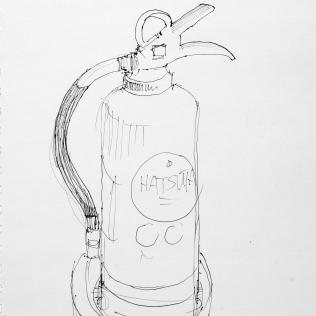 14. Fire Extinguisher Ghibli Museum 6-19-06