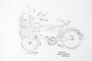 17. Bicycle Ghibli Museum 6-19-06