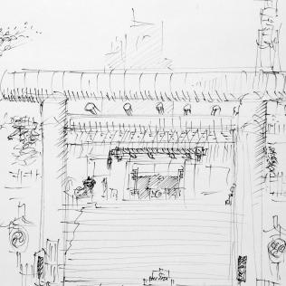 20. Shinto Shrine Tokyo near Shiba Park Hotel 6-20-06