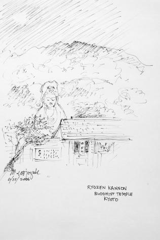 28. Ryozen Kannon Buddhist temple Kyoto 6-22-06