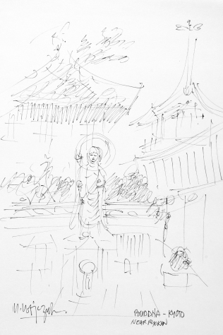 36. Buddha - Kyoto near Ryokan undated