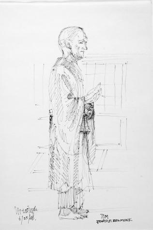 46. Tom, Tenryuji Zen Monk 6-25-06
