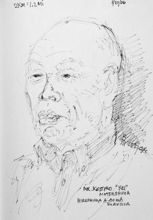 60. Mr. Keijiro 'Kei' Matsushima Hiroshima A-Bomb Survivor