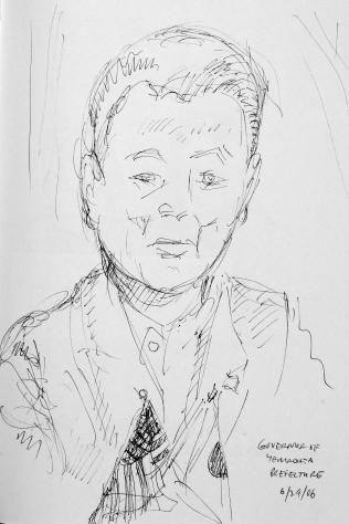 69. Governor of Yamagata Prefecture 6-29-06
