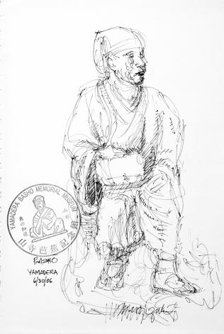 73. Basho Yamadera 6-30-06