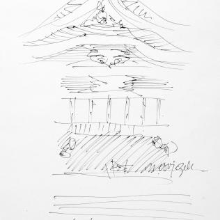 8. Meiji Jingu Shrine at closing time 6-17-06