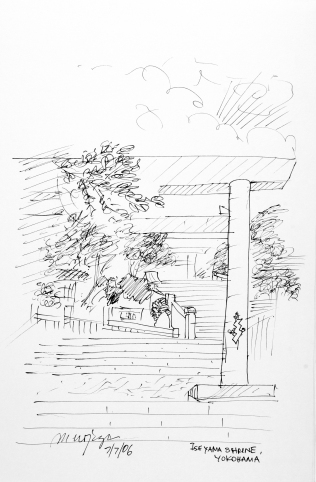97. Iseyama Shrine Yokohama 7-7-06